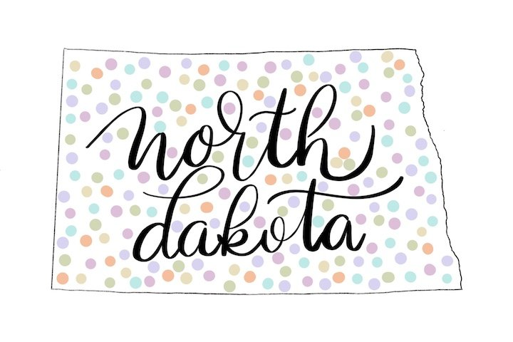 Free North Dakota Printable