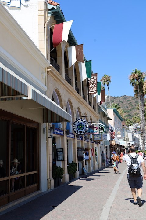 Catalina Island street view
