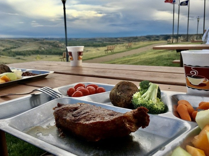 Medora Musical Pitchfork Steak