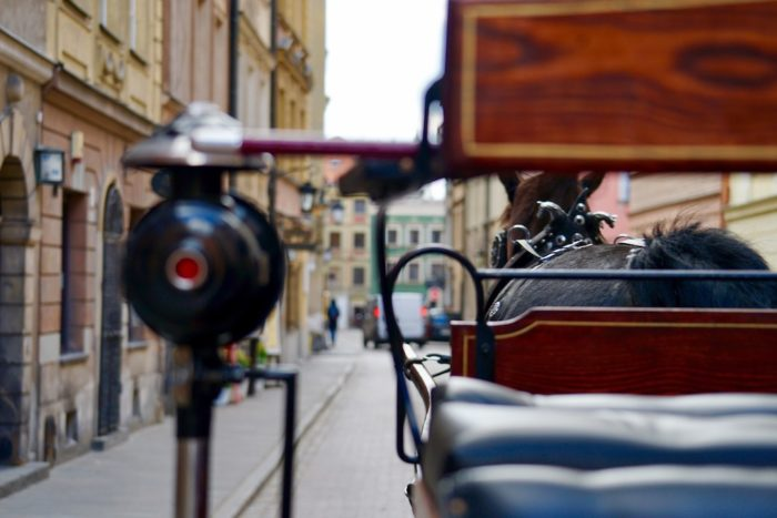 Warsaw by carriage