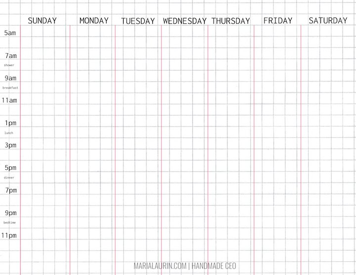 Daily Weekly Task Planner