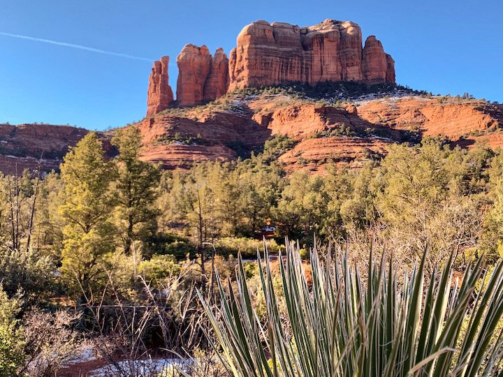 Cathedral Rock Winter in Arizona