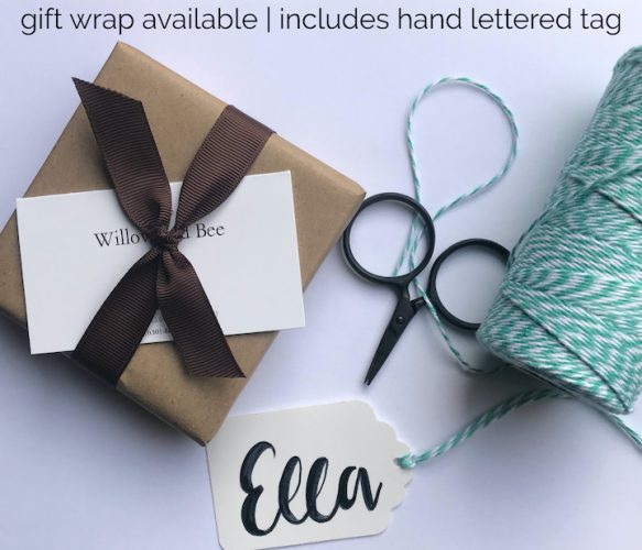 Willow and Bee Gift Wrap